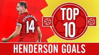 TOP 10: Jordan Henderson