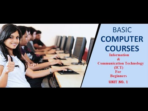 basic computer courses for beginners | What is ICT