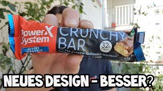 Power System Crunchy Bar SALTED CASHEW-Karamell Proteinriegel | Wie ist er?