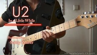 U2 - In a Little While, (guitar cover)