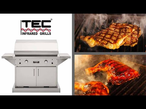 TEC Patio FR Infrared Gas Grill Series Review | BBQGuys.com