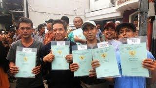 2.000 Warga Jakarta Selatan Bahagia Terima Sertifikat Tanah dari Presiden Jokowi