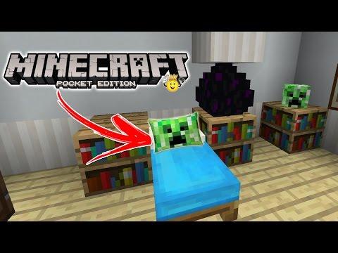 ⭐️Como fazer Travesseiro no Minecraft PE