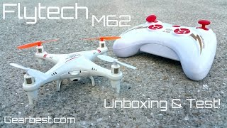 Skytech M62 Quadcopter - $29.95 - Phantom DJI Mini Version - Gearbest.com - Unboxing & Test!