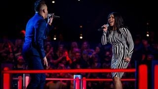 Nate James Vs Lovelle Hill - 'No Air' (Full Video) - The Voice UK 2013