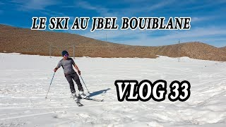 preview picture of video 'vlog 33 : le ski au jbel bouiblane / التزحلق في جبل بويبلان'