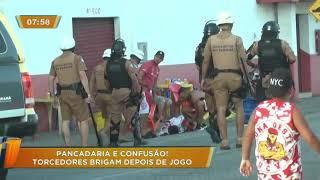 Torcidas De Athletico E Rio Branco Brigam Após Jogo Em Paranaguá