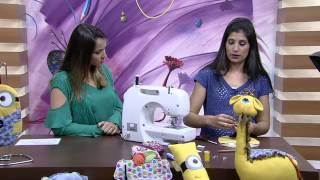 Mulher.com - 24/07/2015 - Camila Martins PORTA LIXEIRA PARA CARRO MINIONS