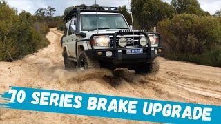 Best Brakes for 70 Series Toyota LandCruiser