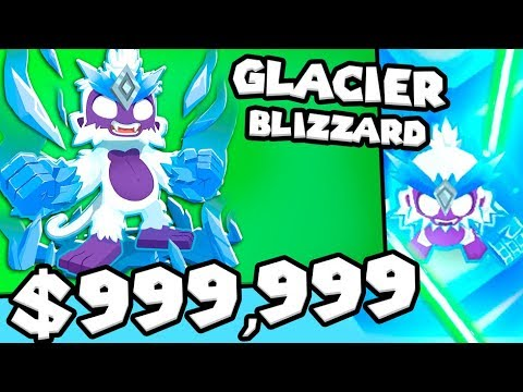 Bloons TD 6 - The Sub Zero Tower - Tier 5 ICE Monkey | JeromeASF