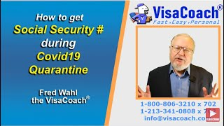 How to get Social Security Number during Covid19 Pandemic gen110