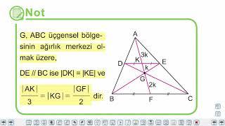 Eğitim Vadisi 9.Sınıf Matematik 28.Föy Üçgenin Yardımcı Elemanları (Üçgende Kenarortay) Konu Anlatım Videoları