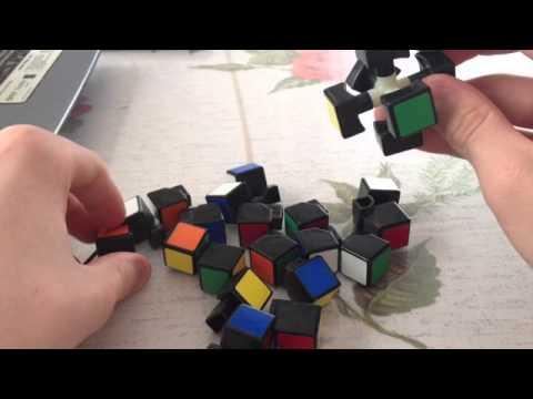 comment demonter un rubik's cube 3x3x3