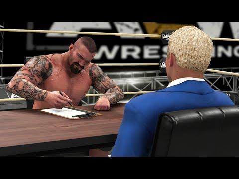 RANDY ORTON QUITS WWE & JOINS AEW! | WWE 2K19 Universe Mods