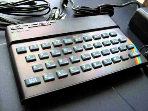 ZX SPECTRUM 48K music in RECORDING STUDIO