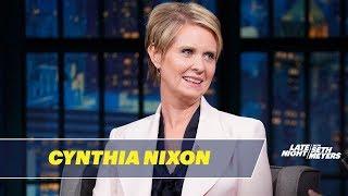 Cynthia Nixon Is Taking on the Political Establishment
