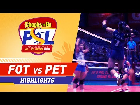 Highlights: Foton vs. Petron | PSL All-Filipino Conference 2018