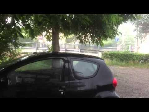 Pioggia e grandine a Gazzada Schianno