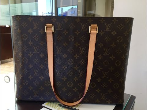 Retired Louis Vuitton Luco Tote – Review and What Fits Inside