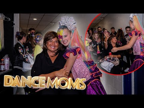 ABBY LEE MILLER CAME TO MY CONCERT! (+The DANCE MOMS Cast!)