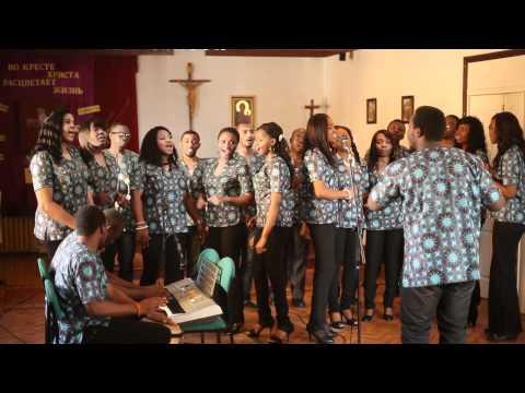 Som too chukwu St. Cecilia choir lugansk, Ukraine