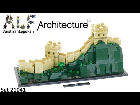 Vidéo LEGO Architecture 21041 : La Grande Muraille de Chine