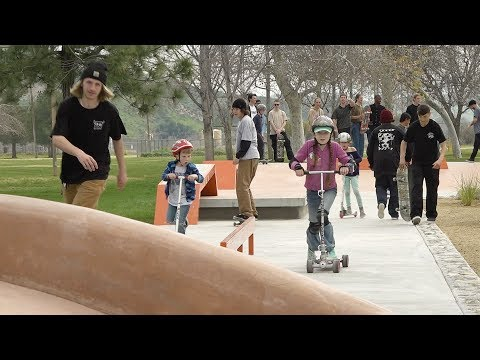 Castaic skatepark opens to boarders