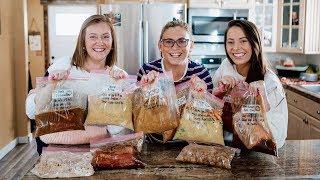 10 Crock Pot Ready Freezer Meals For Under $100