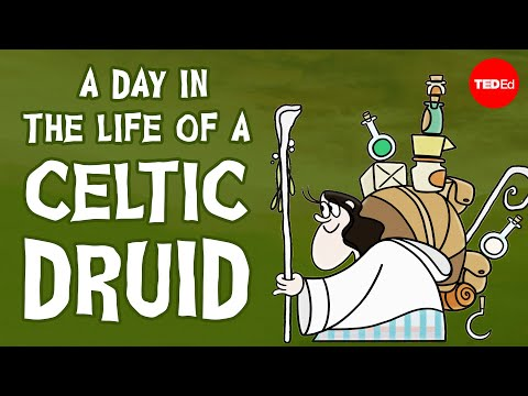 A day in the life of an ancient Celtic Druid – Philip Freeman