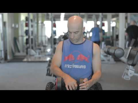 Disability Gym Workout - Free Weights | The Active Hands Company