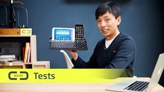 Logitech K480 Bluetooth Tastatur im Test   deutsch