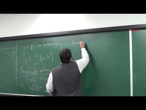 Lecture 16 (Part 2): Example (Continued) of Stokes Theorem; Rectifiable volumes; Fubini's Volumes