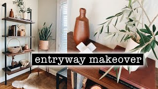 ENTRYWAY MAKEOVER + Bookcase Styling Tips - PART 3  | XO, MaCenna