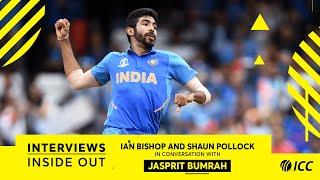 Jasprit Bumrah talks fast bowling, with Ian Bishop and Shaun Pollock