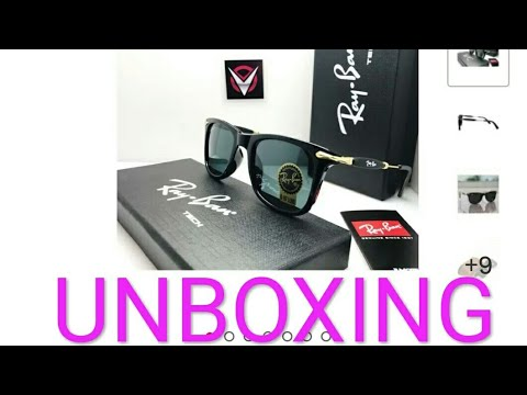Ray-Ban sunglasses unboxing Snapdeal