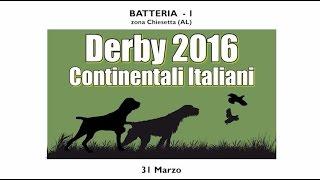 Derby 2016- Continentali Italiani