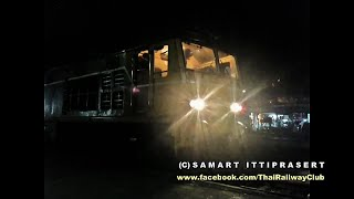 preview picture of video 'Thai Railway Alsthom AD24C No. 4143 & Crew at Bang Sue J. (MAR 30, 2012)'