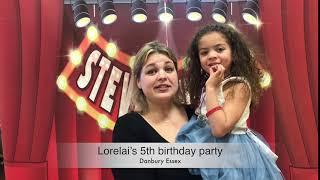 Lorelai's 5th birthday party