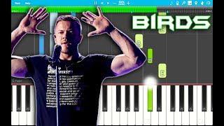 Imagine Dragons - Birds Piano Tutorial EASY (Origins) Piano Cover