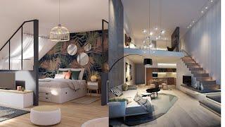 Beautiful Loft Apartment Design Ideas