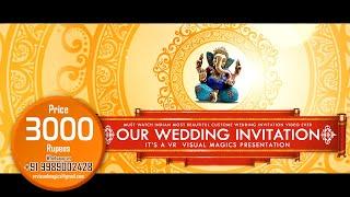 Best | Musical | Indian | Traditional | Classy | Elegant | Wedding Invitation Video | Projetc 28