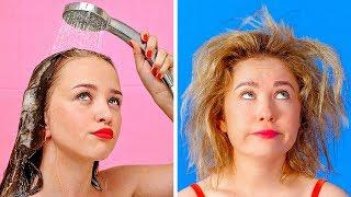 短髮VS長髮的問題 || 123 GO! 好笑又尷尬的情況