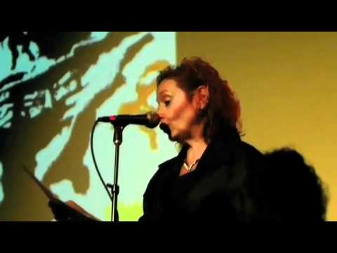 "Vivien Goldman reads"" Floppy Boot Stomp""@ Gary Lucas's Capt Beefheart symposium NYC 4/8/11"