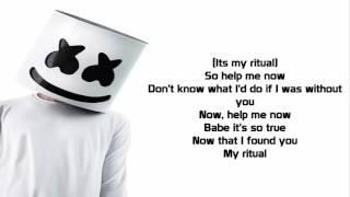 Marshmello - Ritual ft. Wrabel (Lyrics mp3)