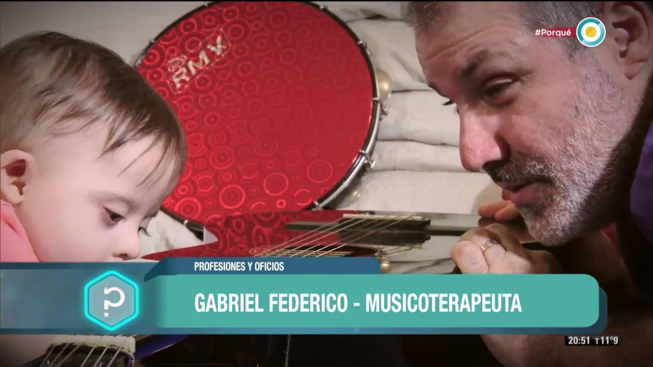 """Gabriel Federico en el programa de Tv Pública """"Todo tiene un porqué"""""""
