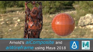 Intro to Arnold's aiComposite and aiWireframe in Maya 2018