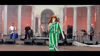 Муся Тотибадзе в зелёном парке на ВНДХ 04.08. 2019 #ВНДХ80 #зеленныйтеатр