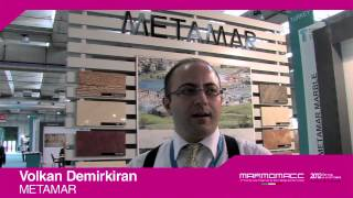 Marmomacc 2012: Volkan Demirkiran interview (METAMAR)