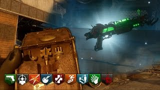 """""""MOON REMASTERED"""" - HACKER DEVICE ALL 12 ABILITIES! ZOMBIES CHRONICLES GAMEPLAY! (BO3 Zombies)"""