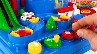 Aprende los Colores Video de Juguete Para Niños - Rompecabezas de Coches de Juguete
